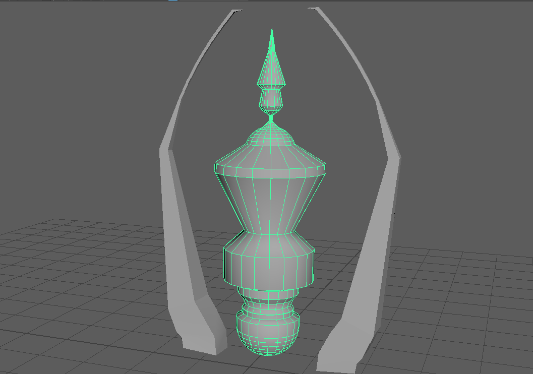 3D model potion bottle