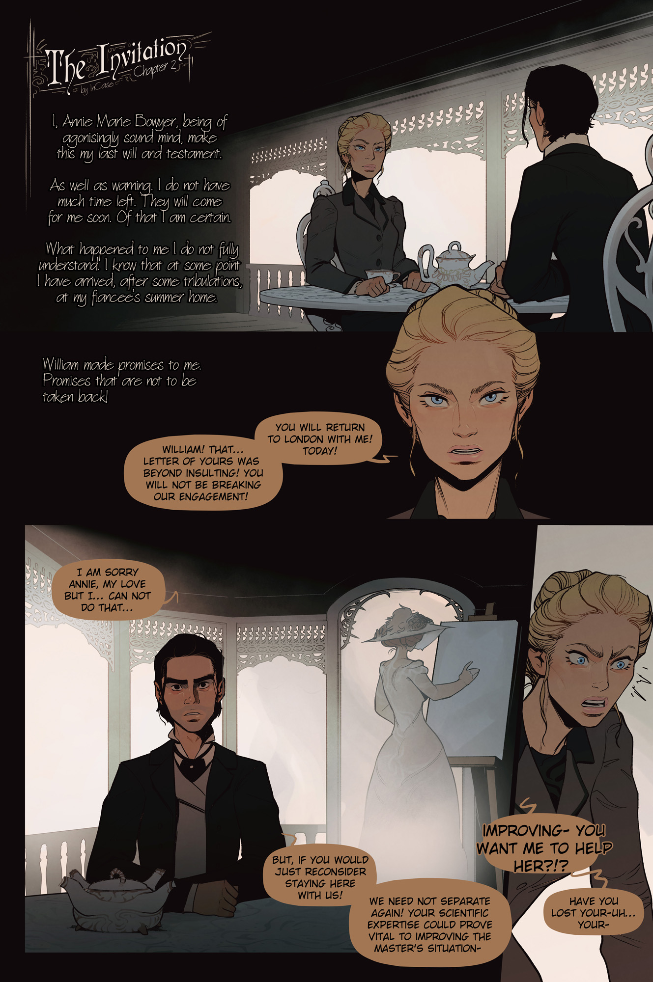 The Invitation chapter 2 page 1