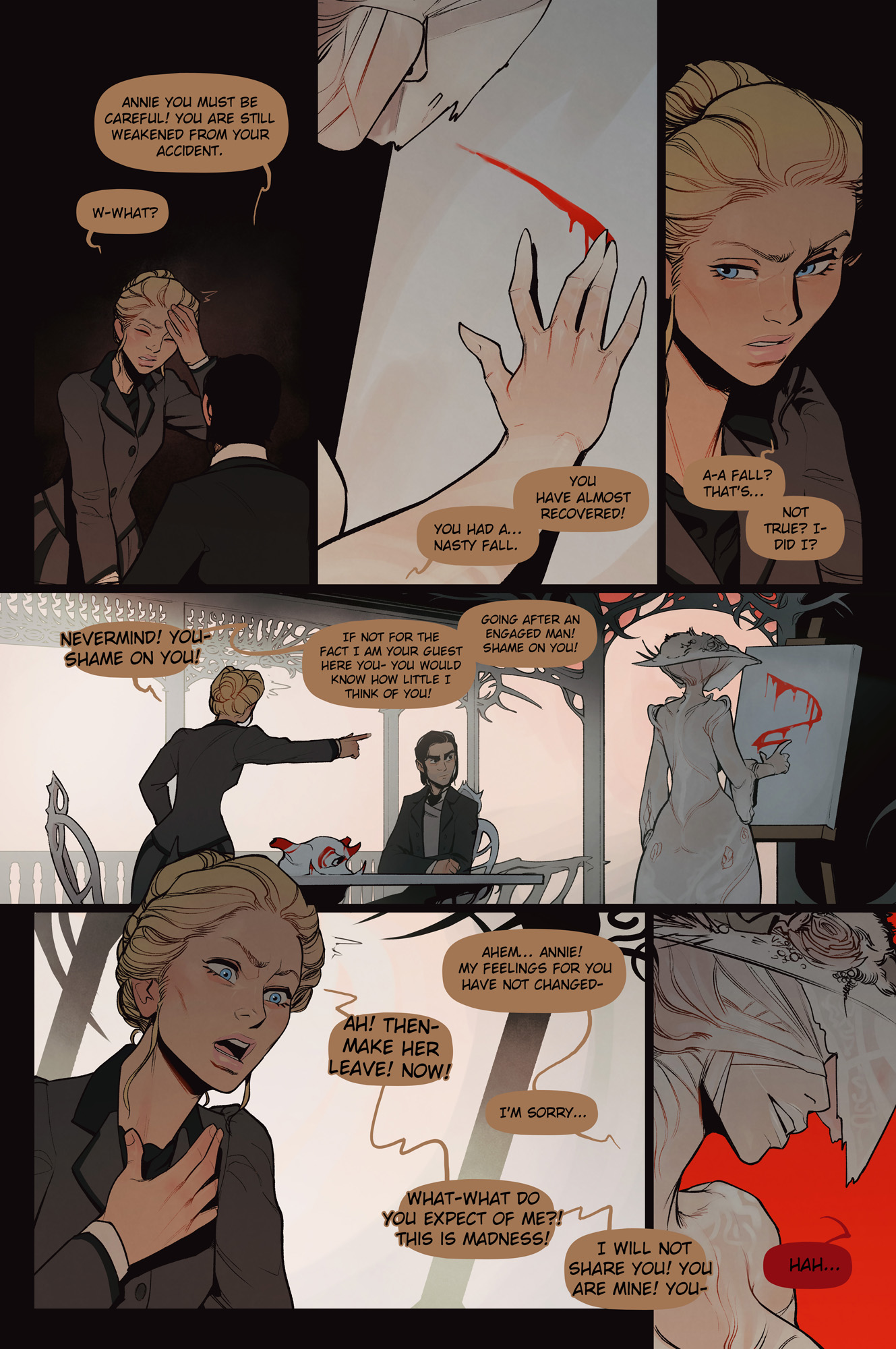 The Invitation chapter 2 page 2