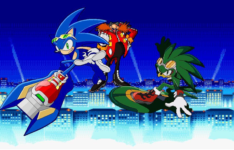 Sonic vs. Jet