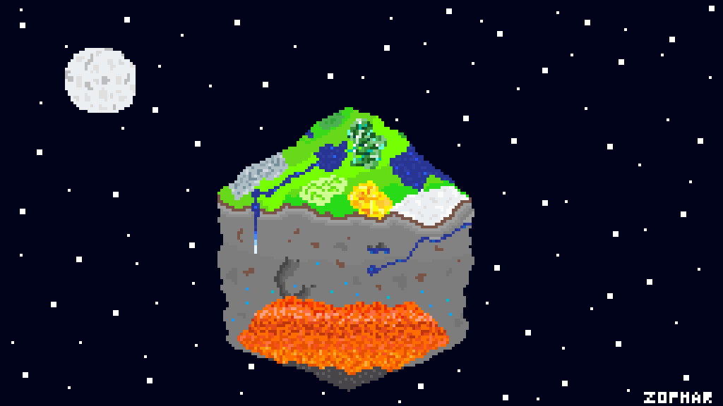 Building Pixel Earth