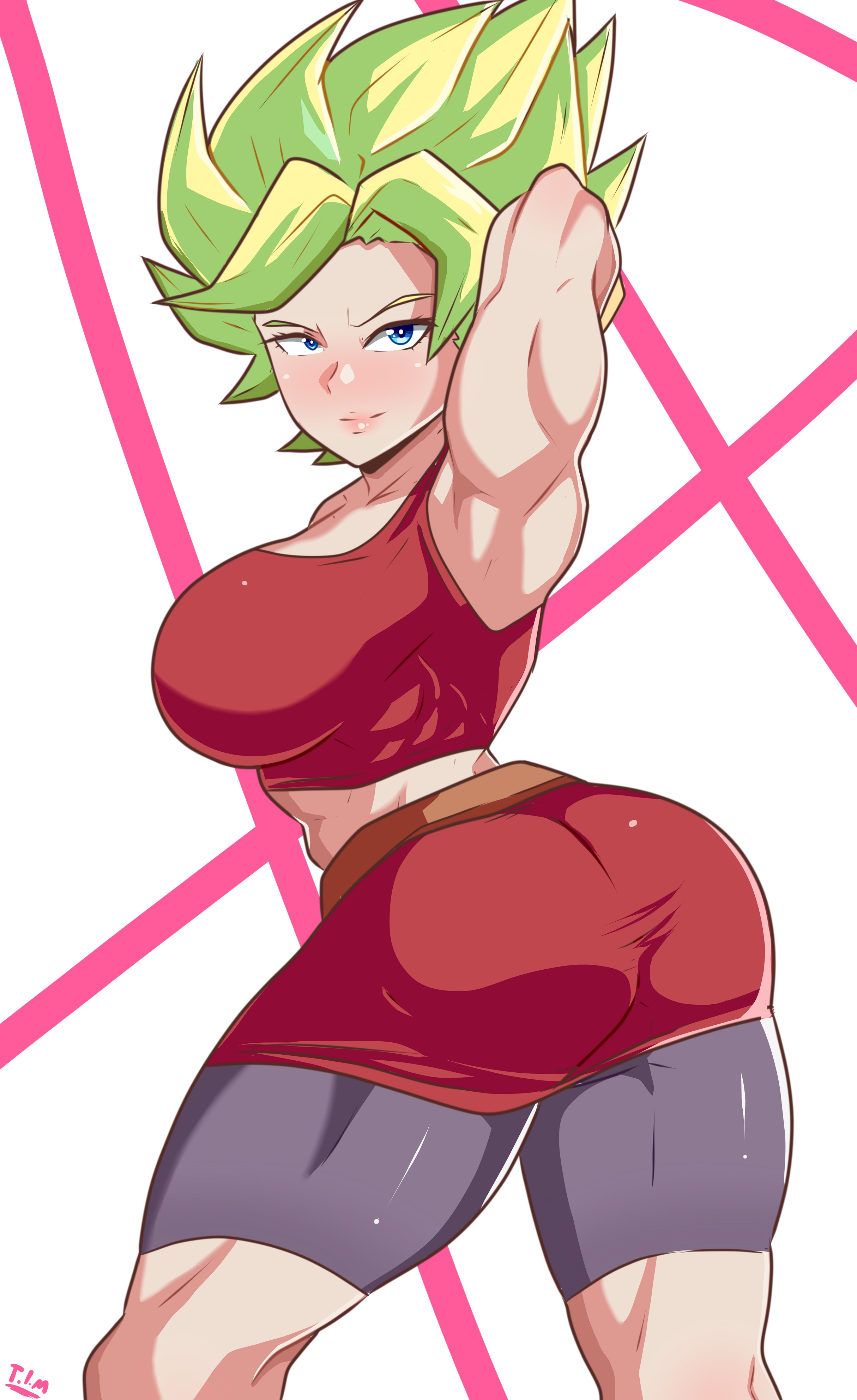 Commission made for @kale_dragonball of Kale by