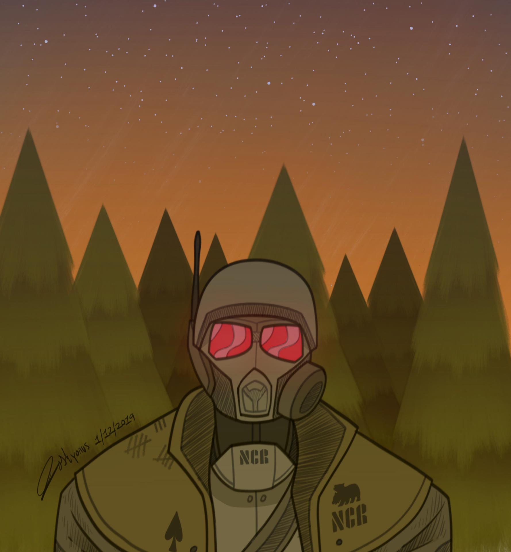 NCR Ranger in Zion