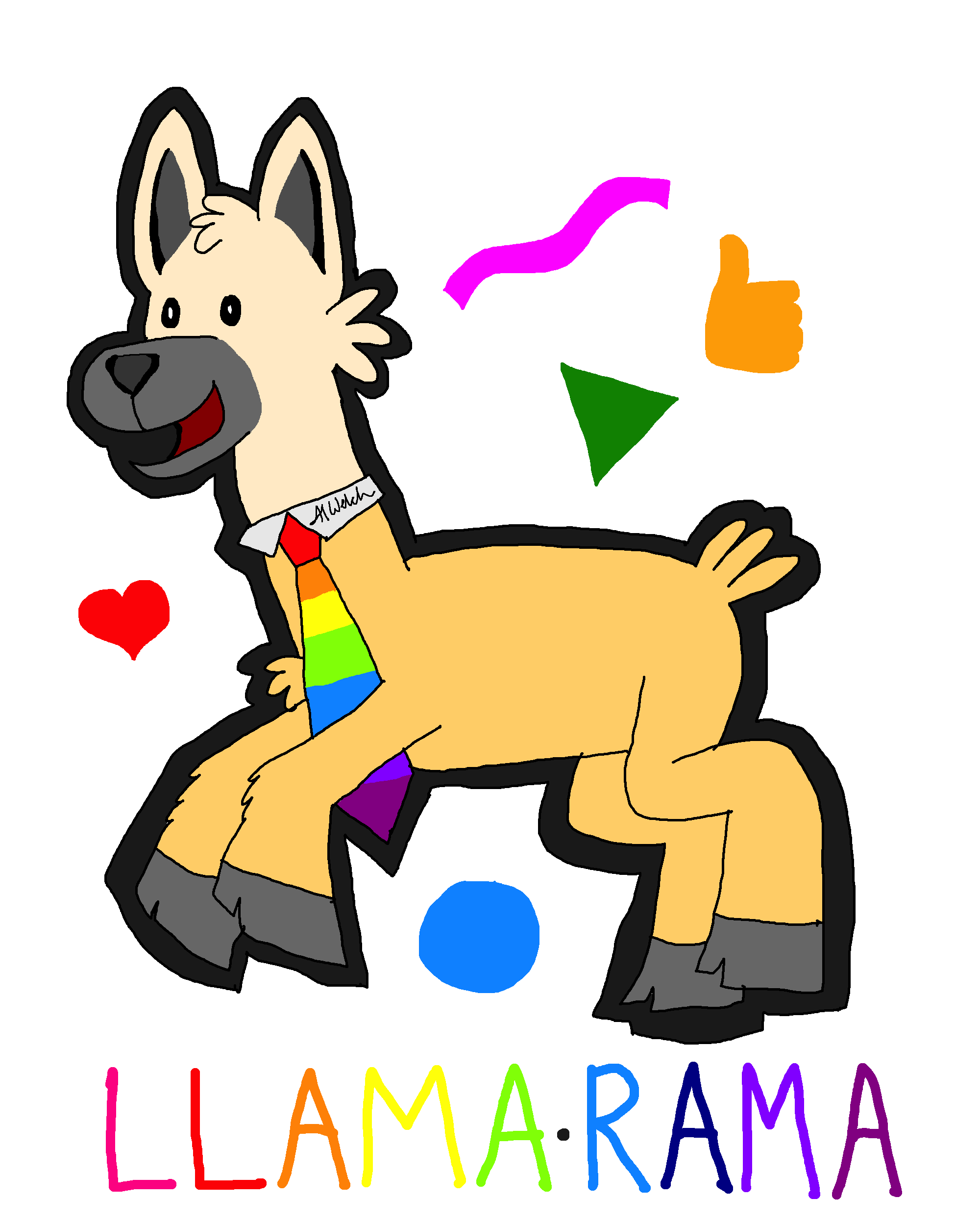 The Llama of the Good Times