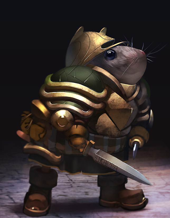 Character Design Challenge: Mouse Warrior