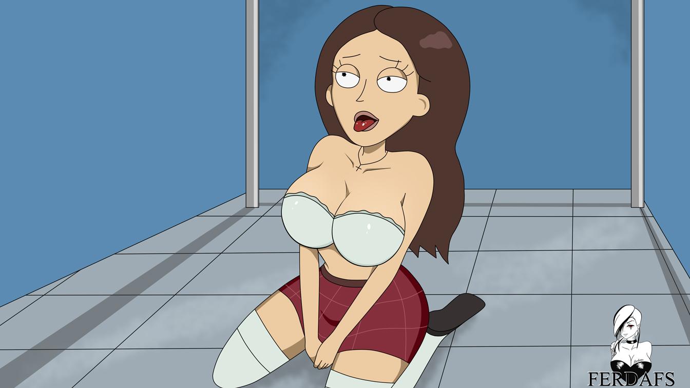 Tricia on the bathroom floor