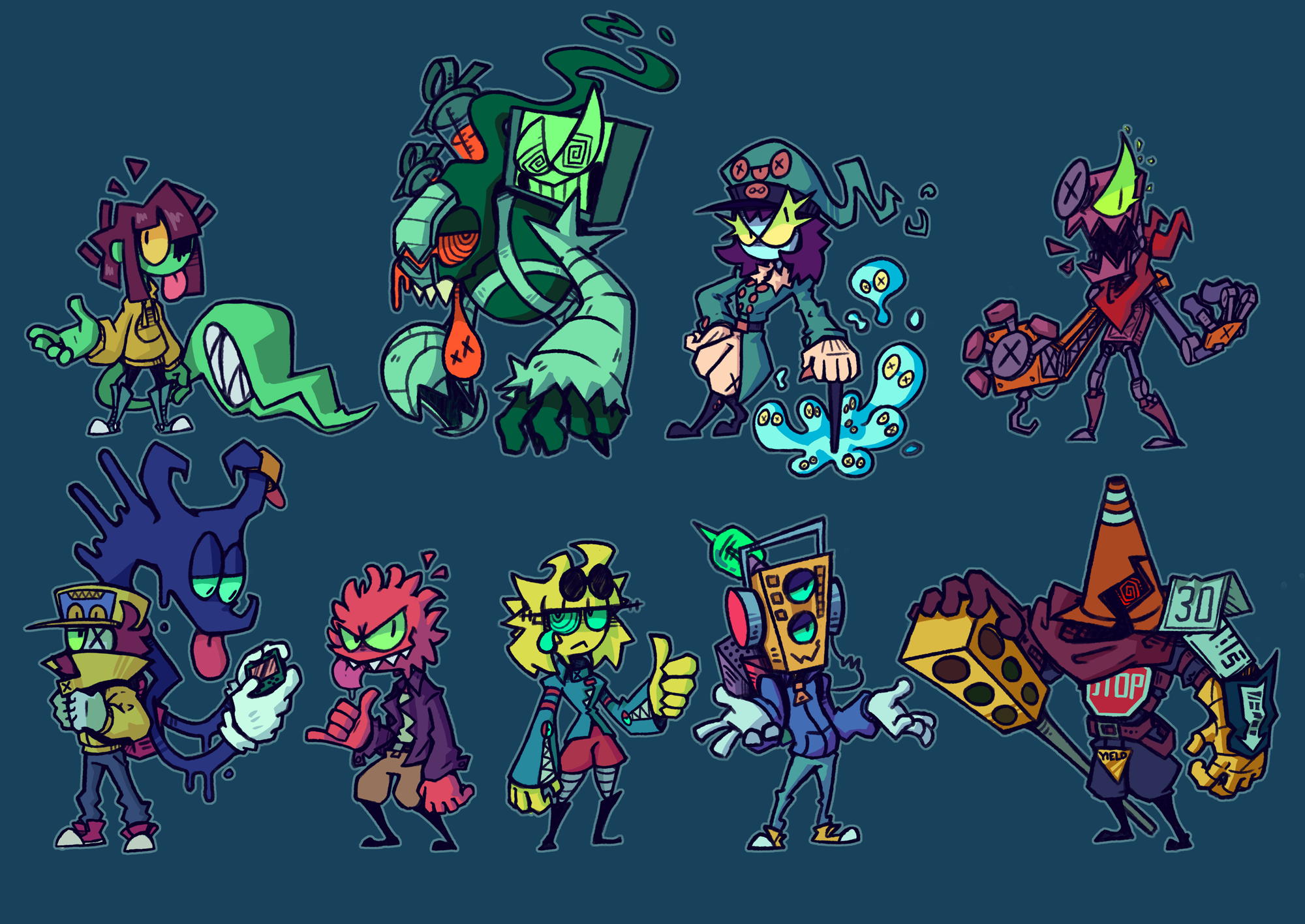 Bunch of Characters