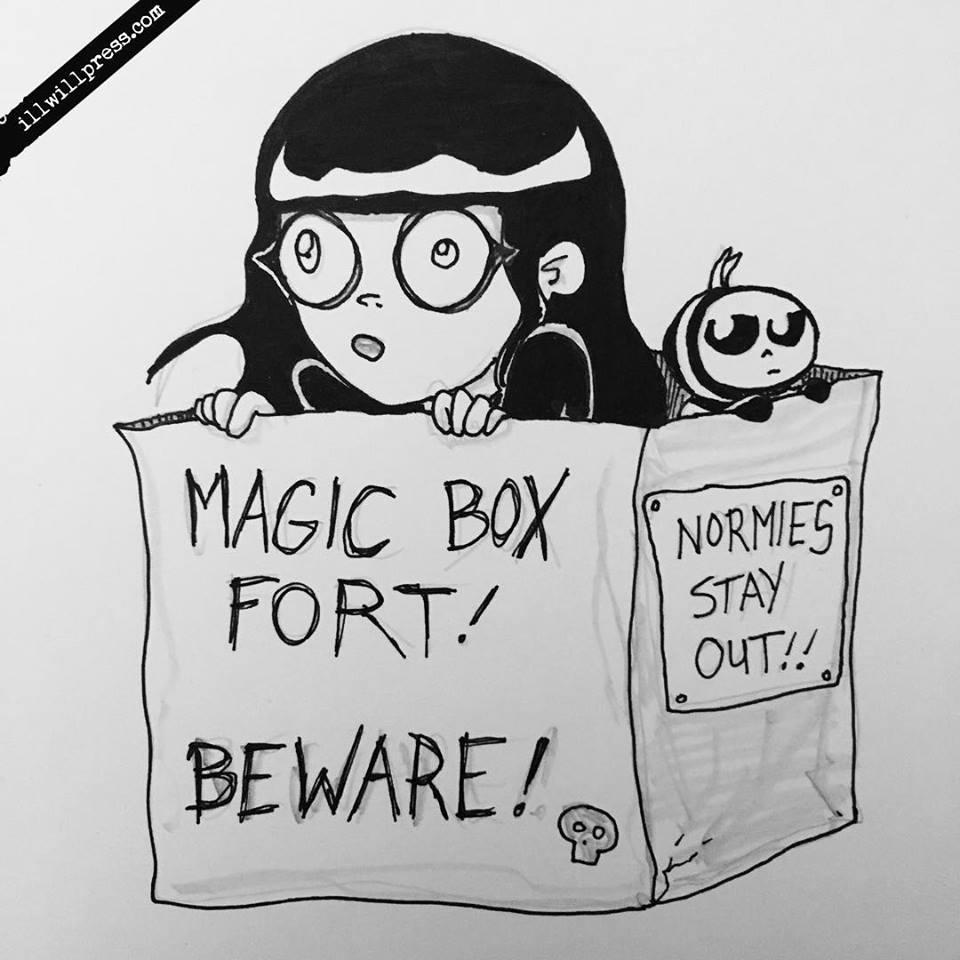 Box Fort (Pum'Kin Guy & Pauline)