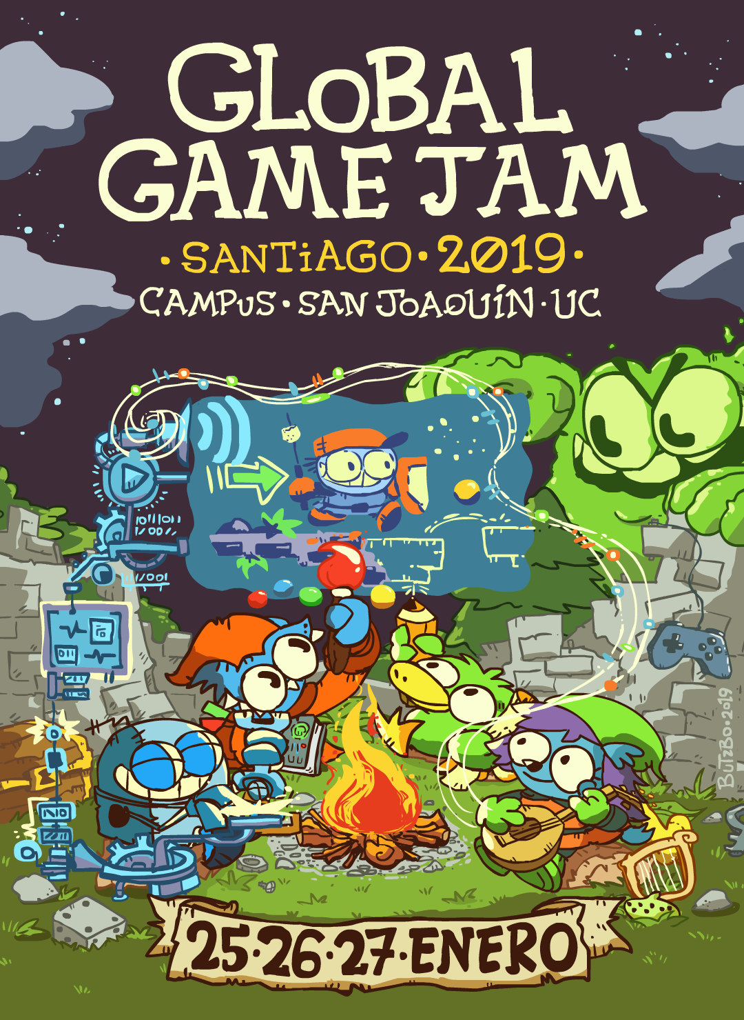 'Game Jam at the Ruins'