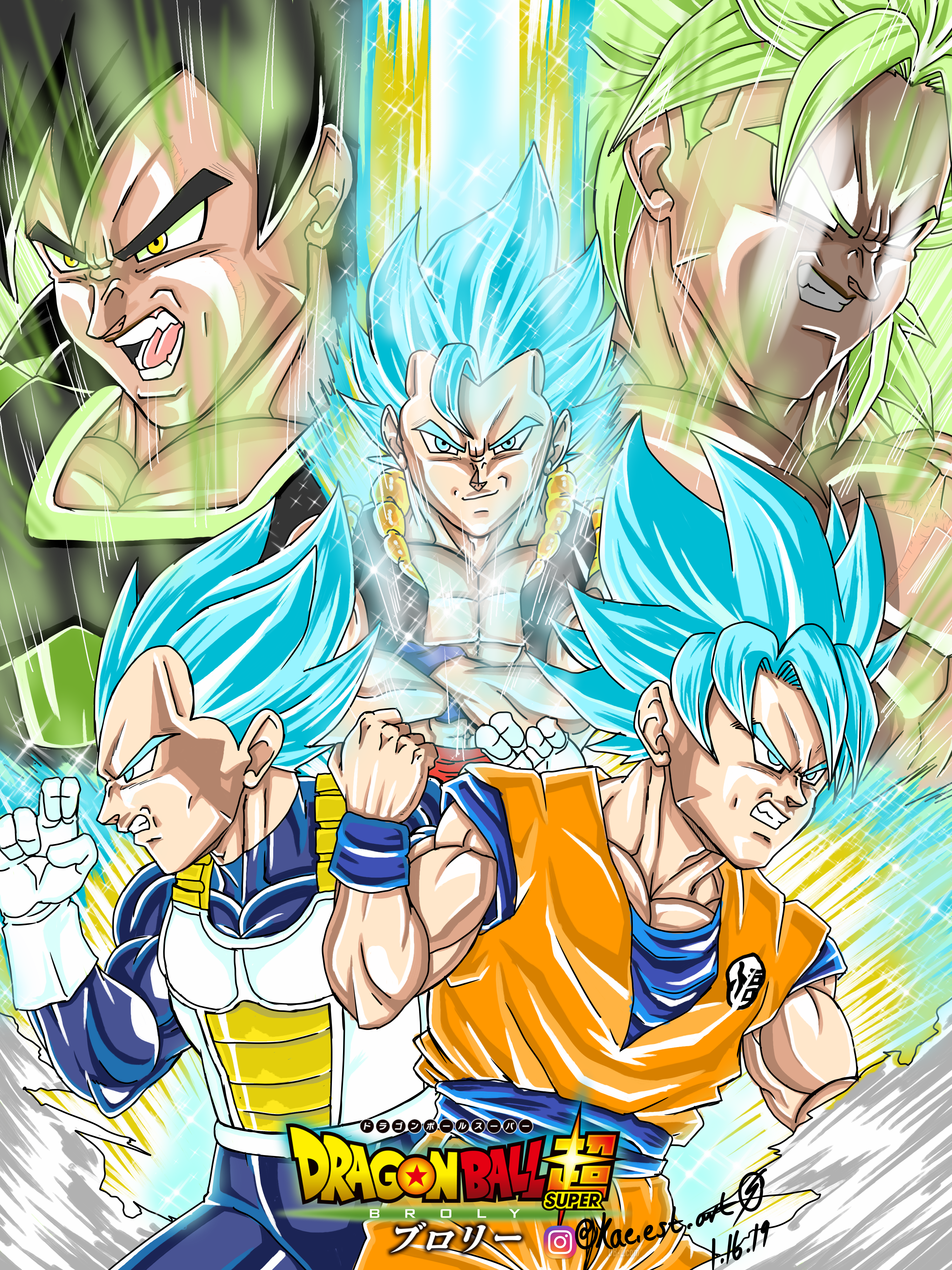 Dragonball Super Broly By Elikyoshi On Newgrounds
