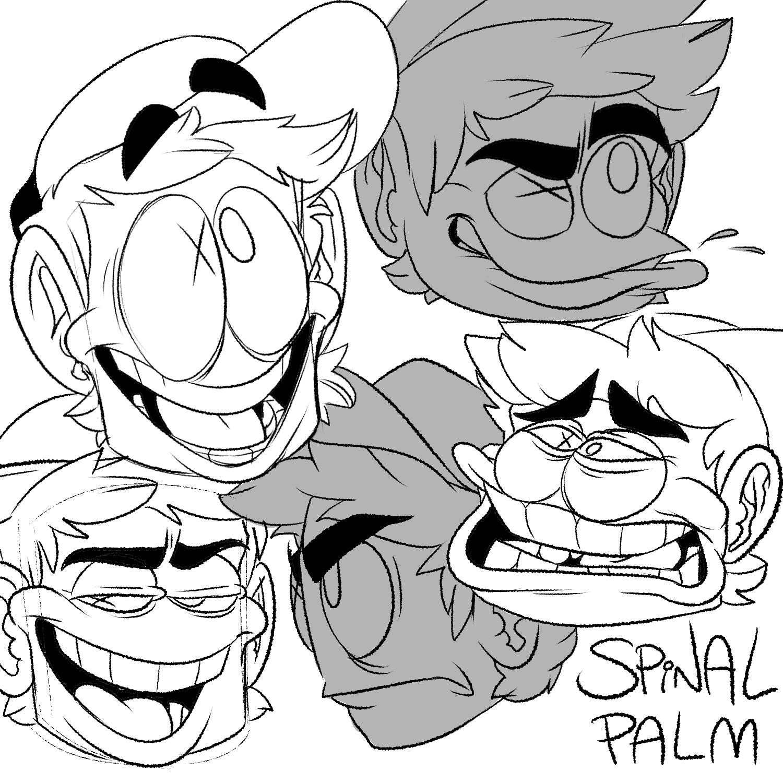 Spinalpalm expression warm-ups