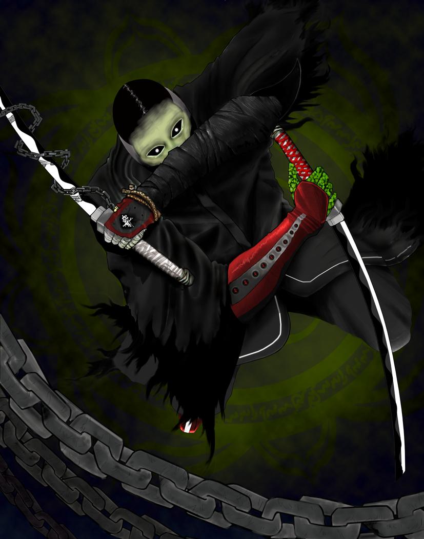 Dark Samurai By Thehades On Newgrounds