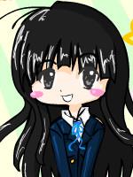 cute school girl