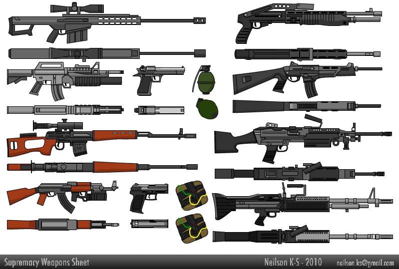 Weapons Sheet