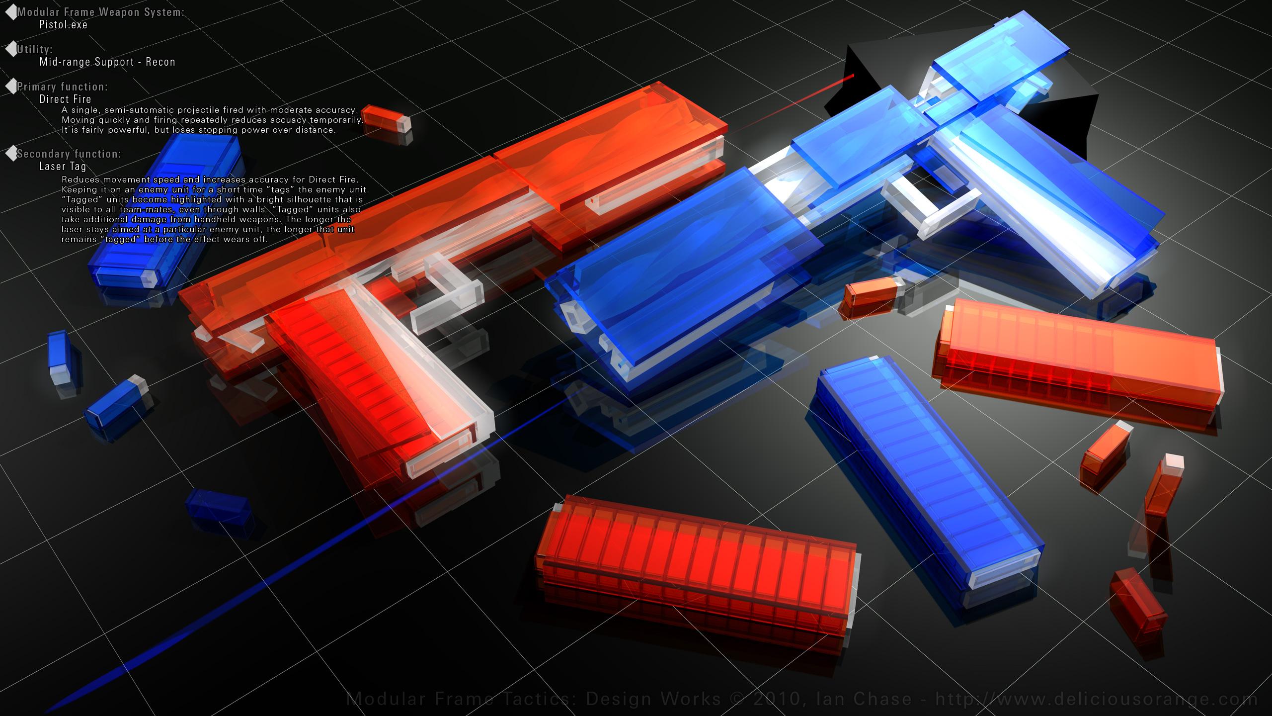 MFT - Pistol Design