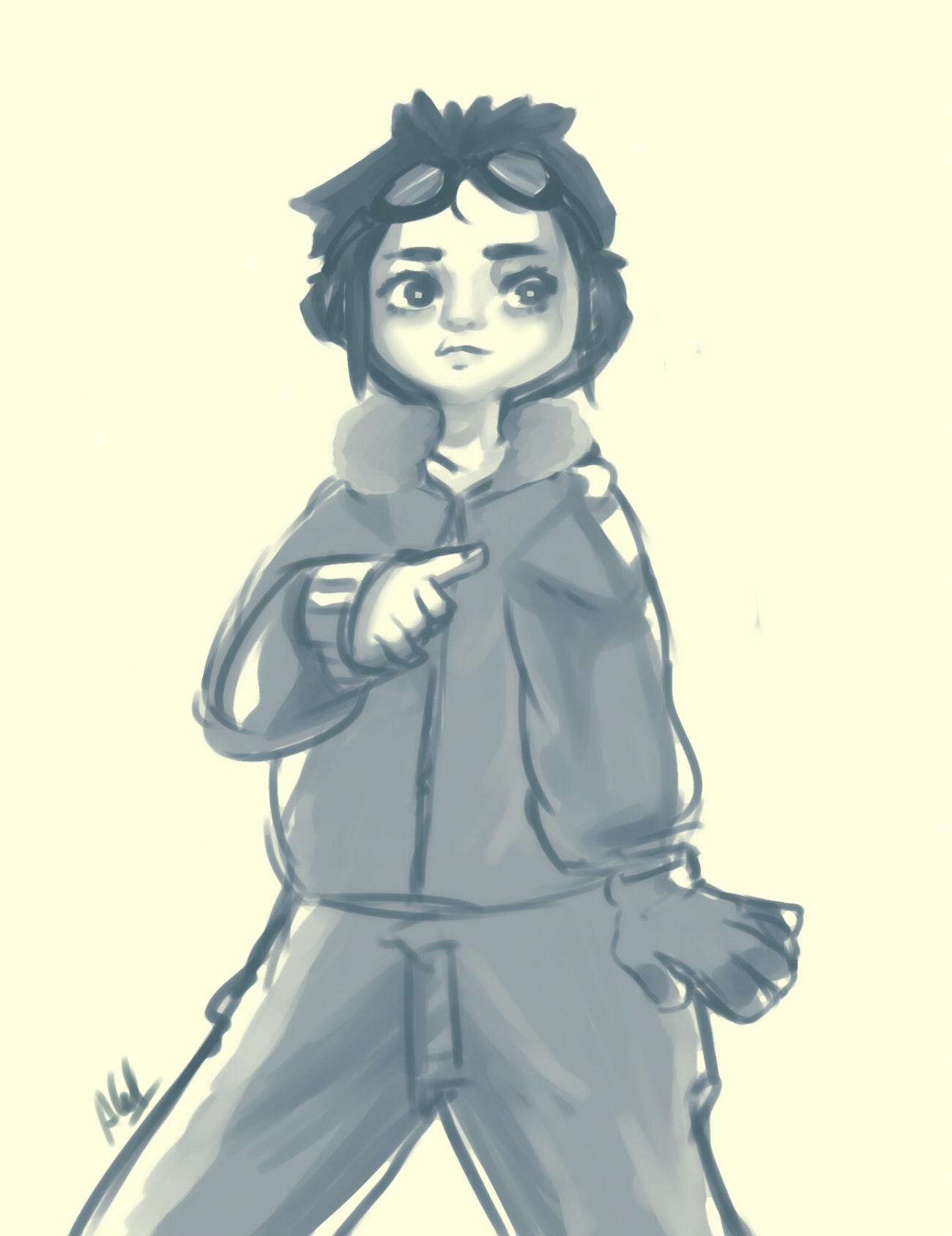 Snowpeak girl