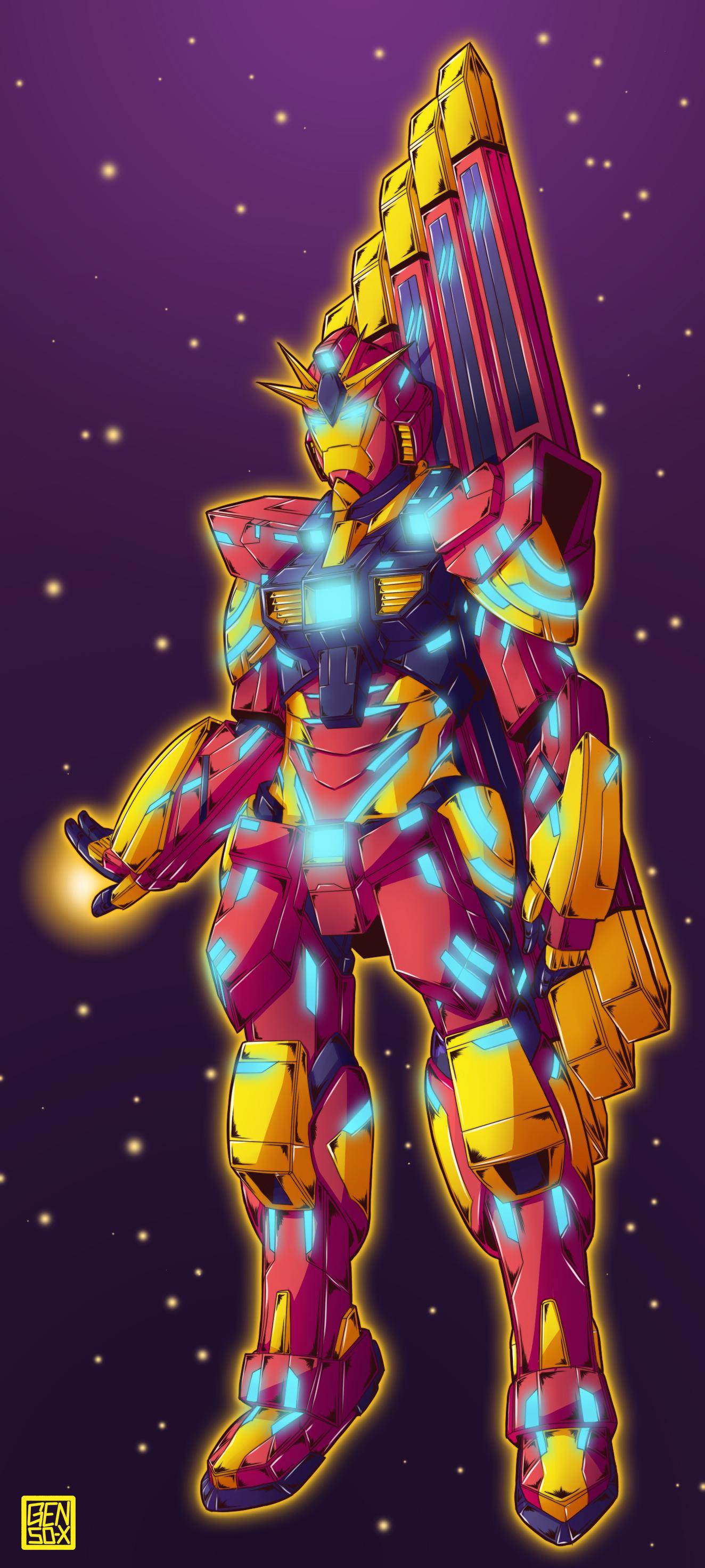 Ironman Gundam - Commission