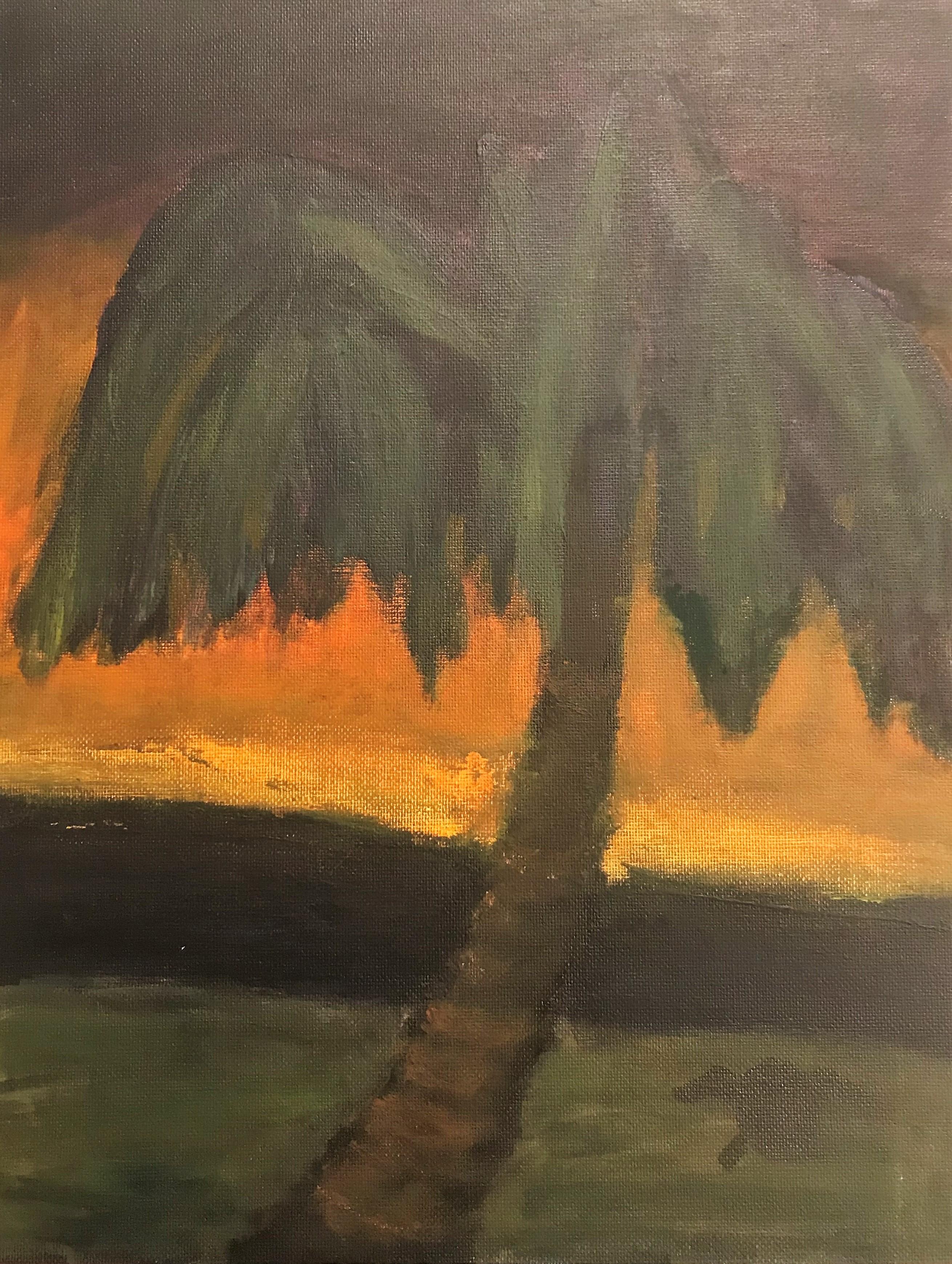 Palm Tree at Sundown