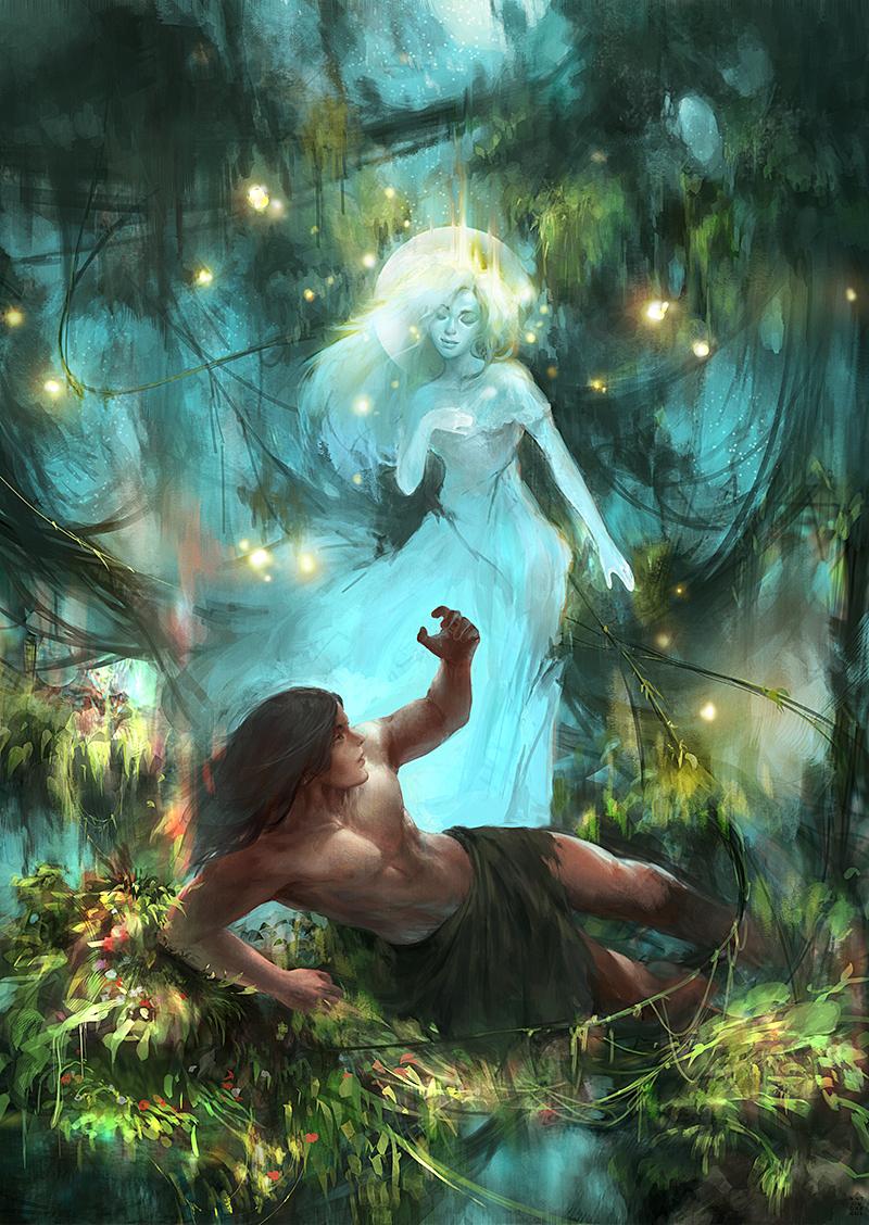 Young Tarzan & the Mysterious She