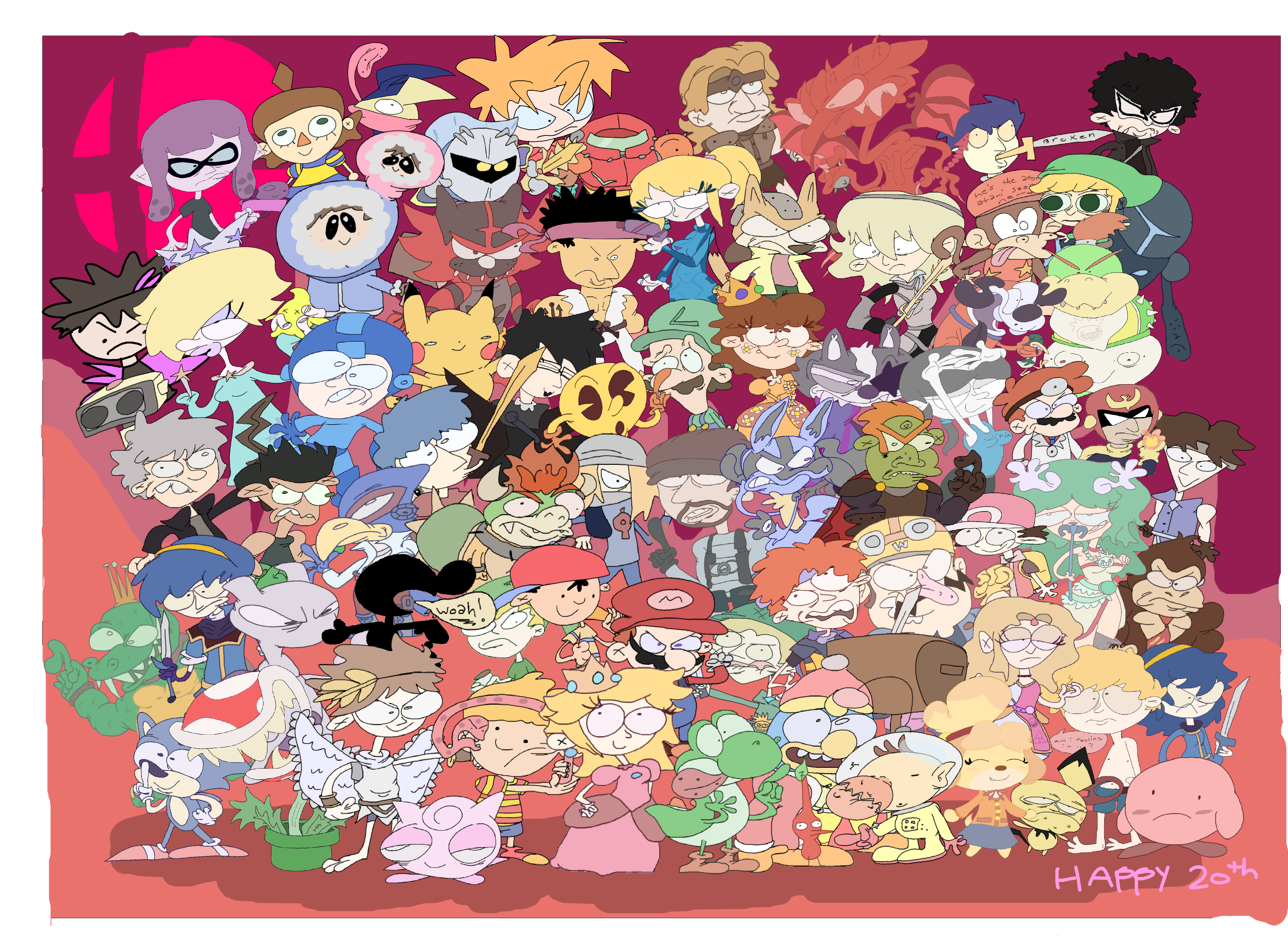 20 Yrs of Smash Bros