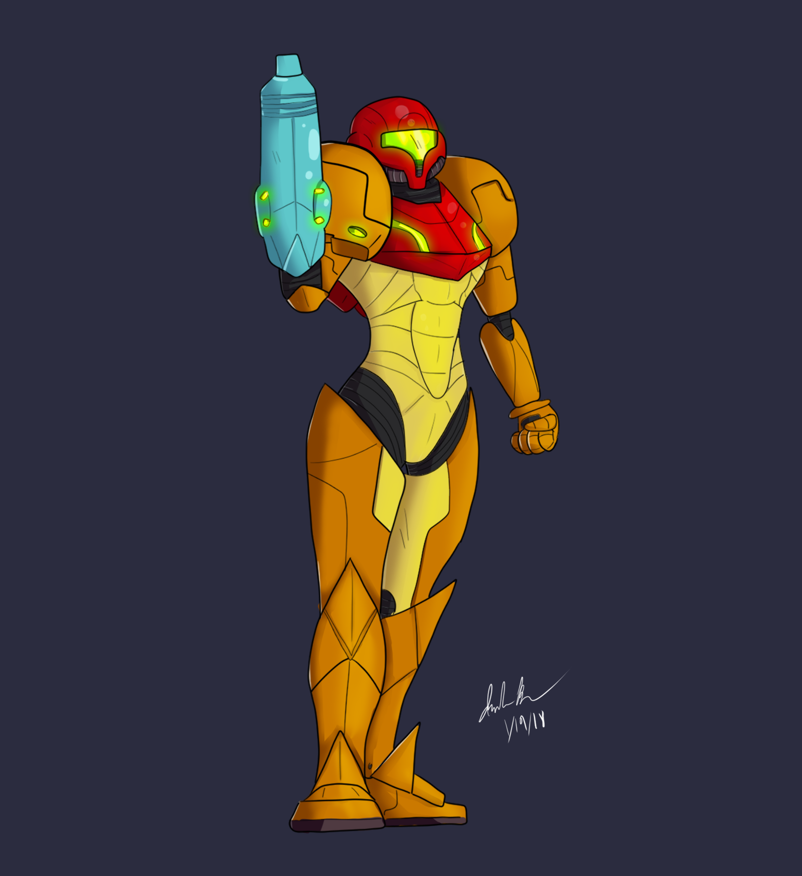 Another Samus Drawing