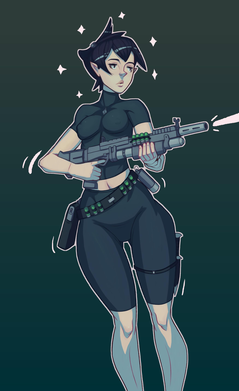 Elf Commando