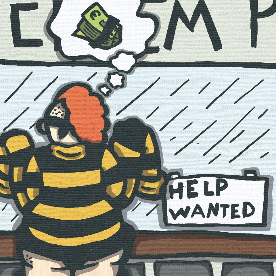 Honey Hair The Wage Slave Hero {Window Shopping Page 1}