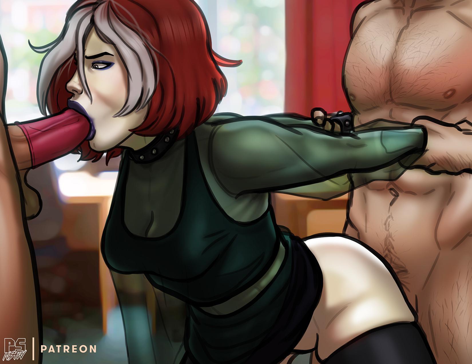 DEC 2018 Sketch Poll Winner: Rogue (X-men Evolution)