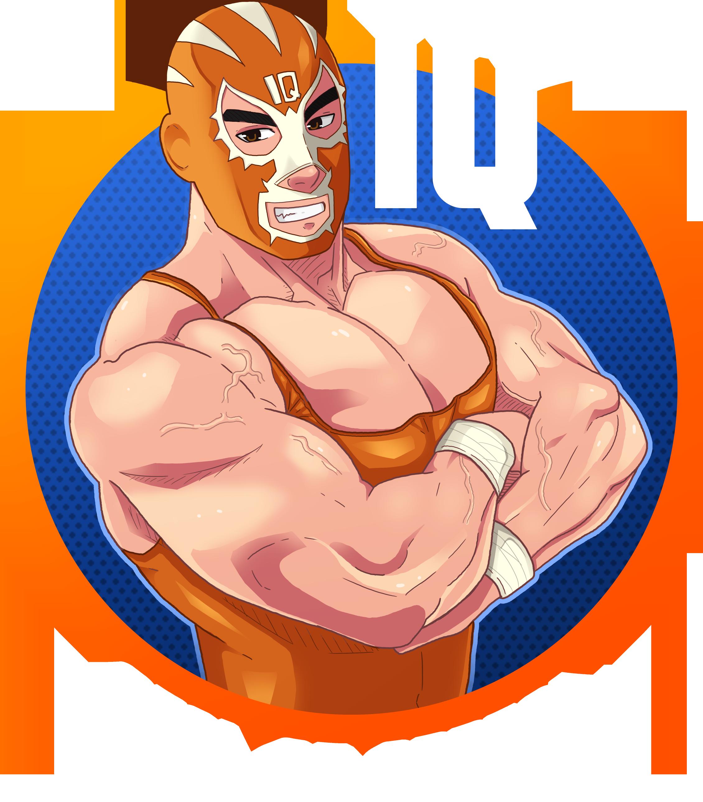 IQ Wrestler logo