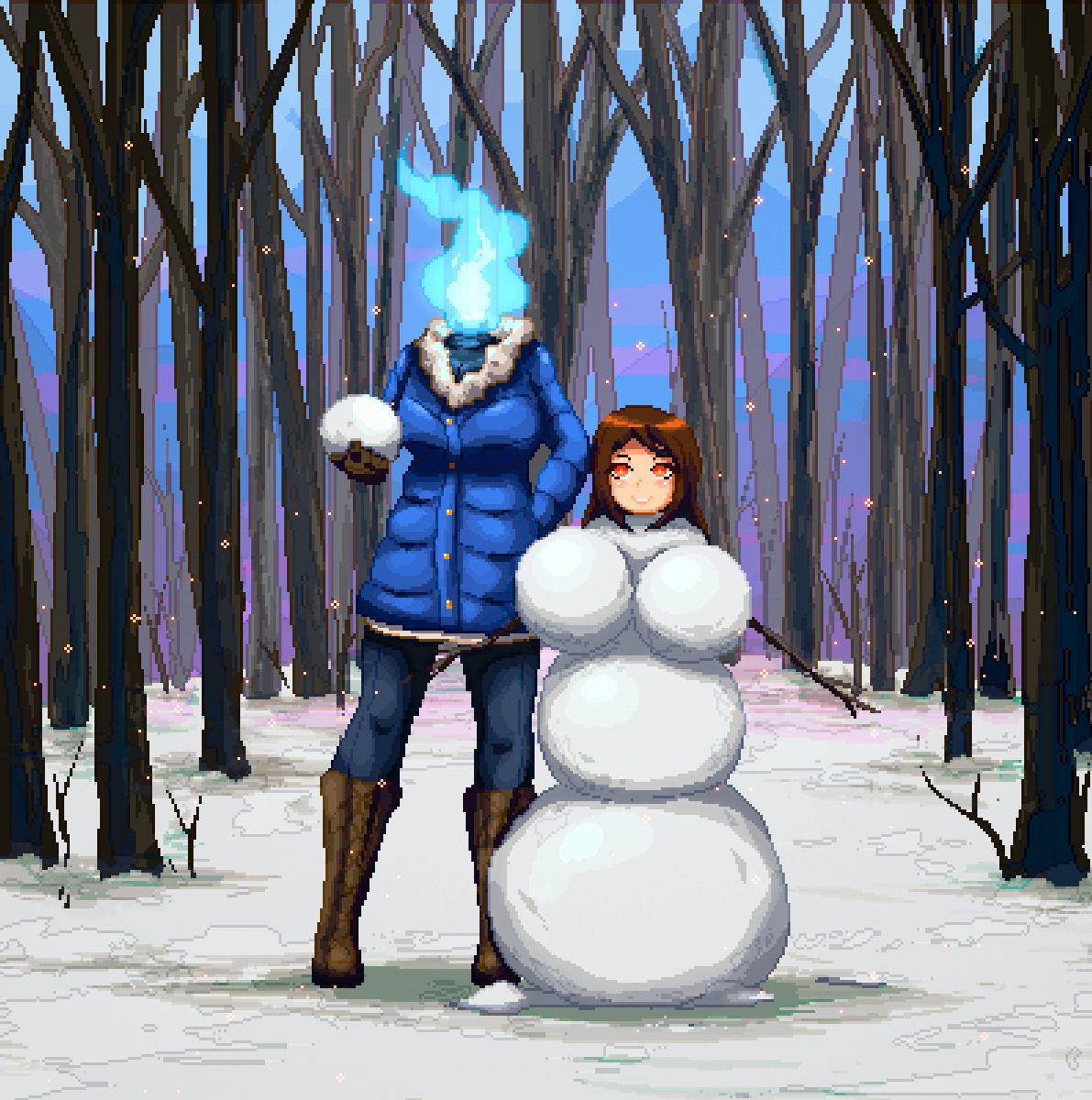 Mairona, Snow day