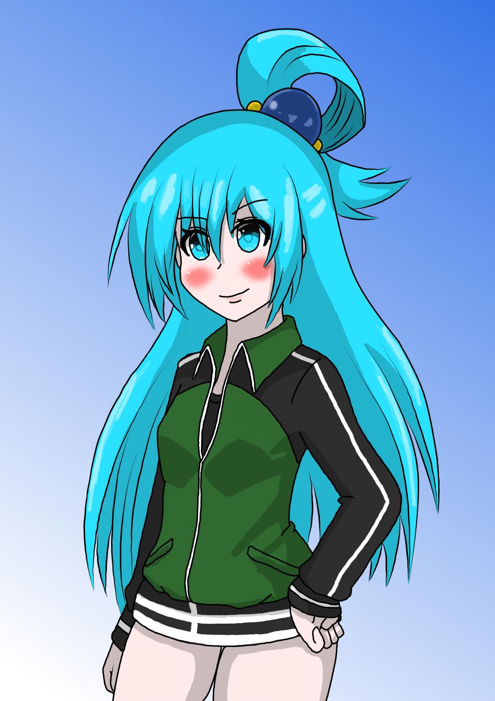 Aqua ~Kazuma Jersey~