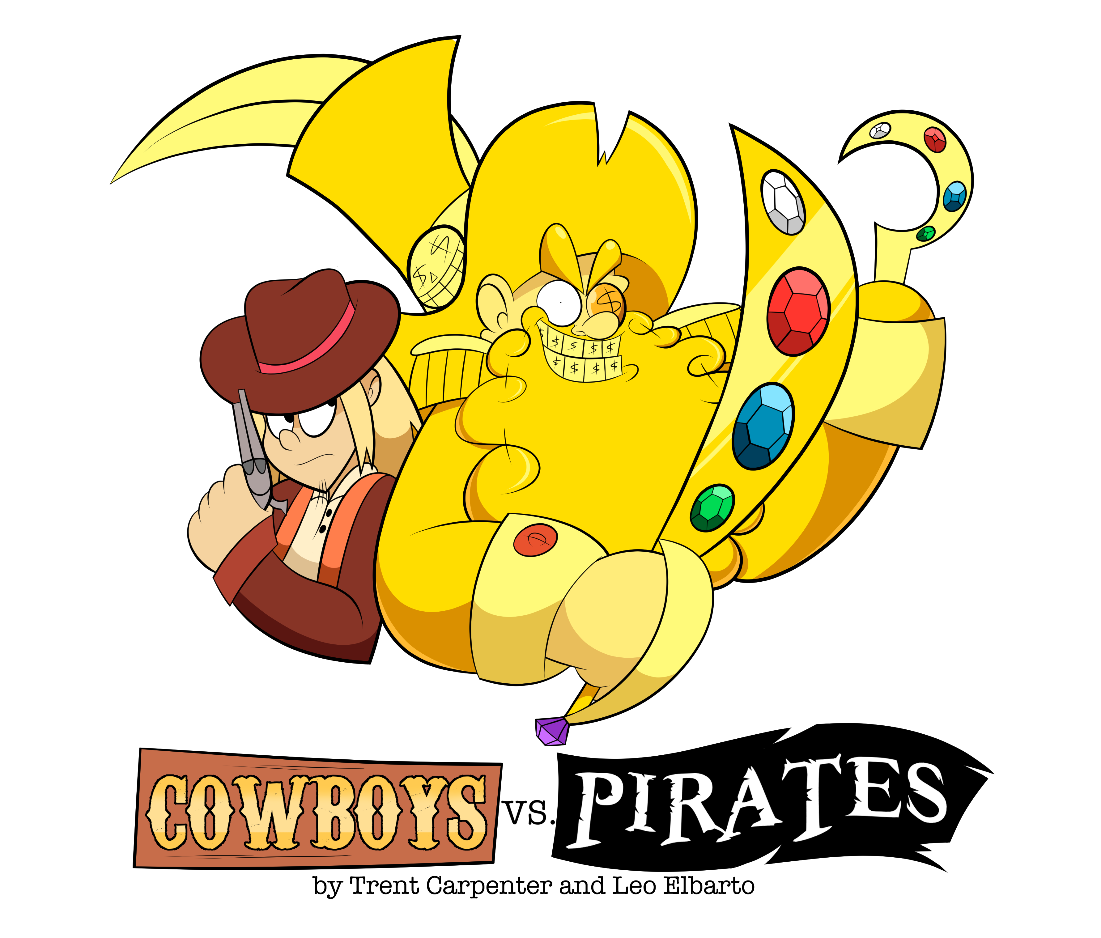 Cowboys vs. Pirates