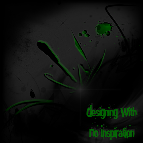 Designing With No Inspiration