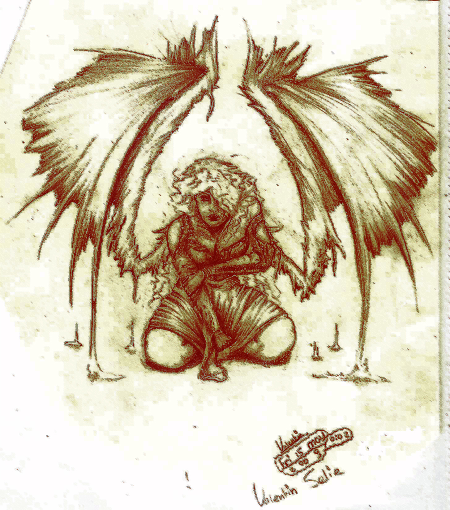 Grounded Angel
