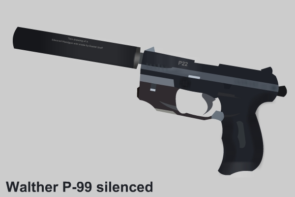 P99 Walther Silenced
