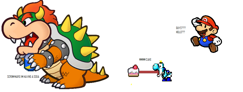 bowser can't be bothered