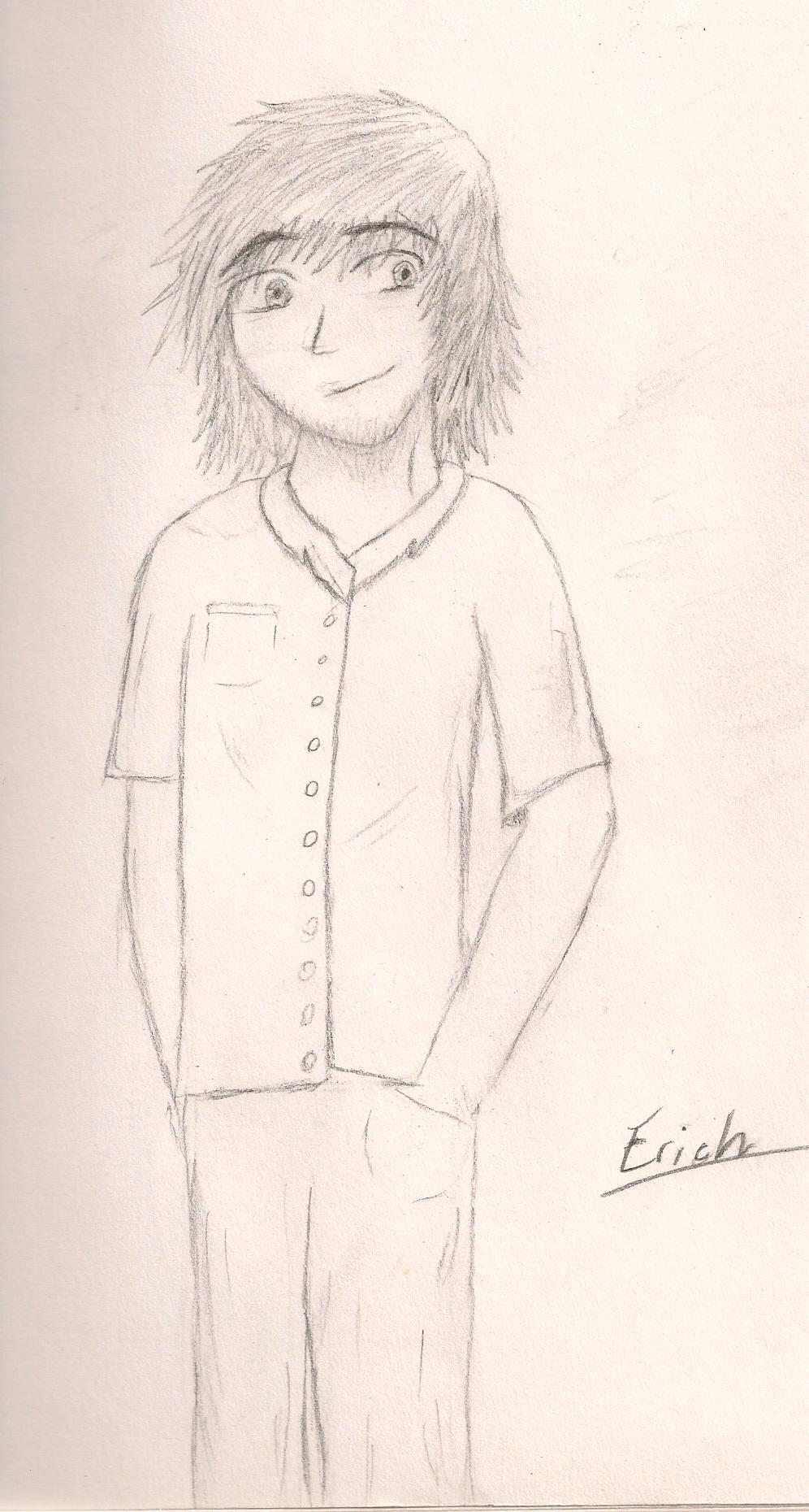 Self manga portrait