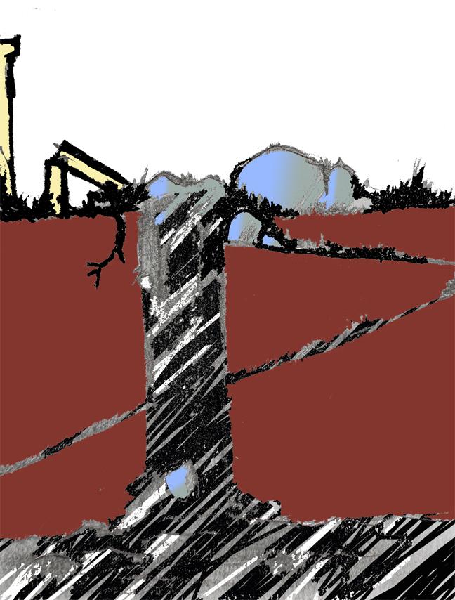 sketch..y falls