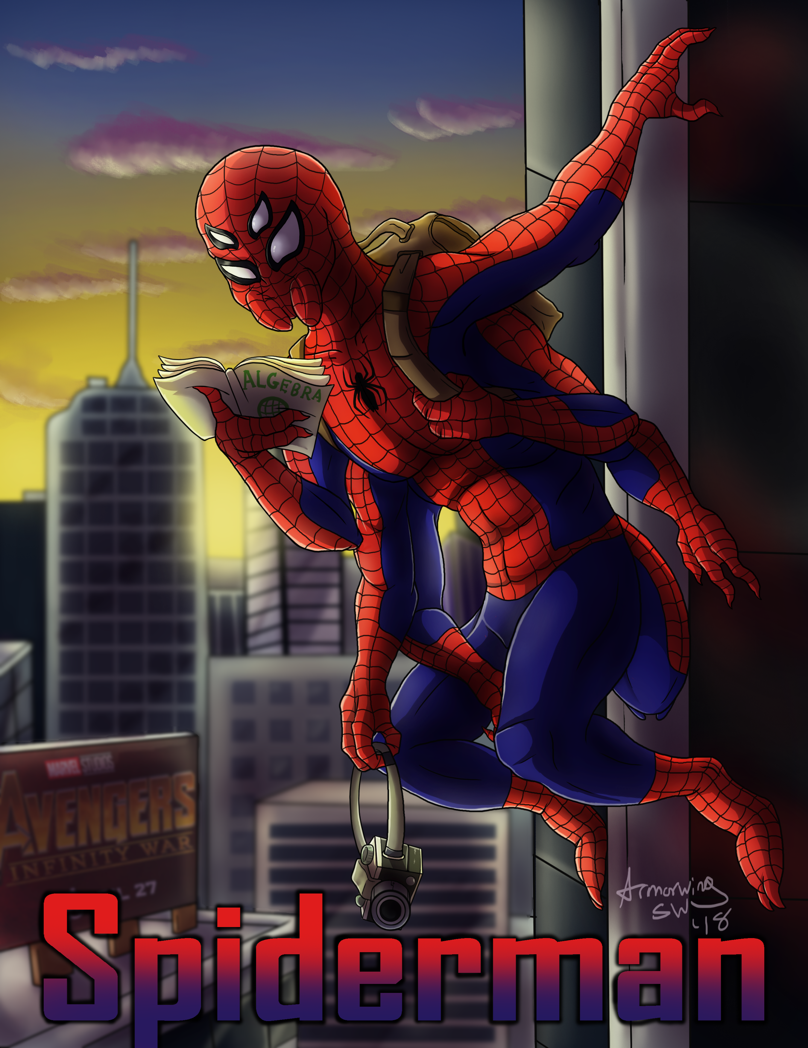 Feral Heroes Project: Spiderman
