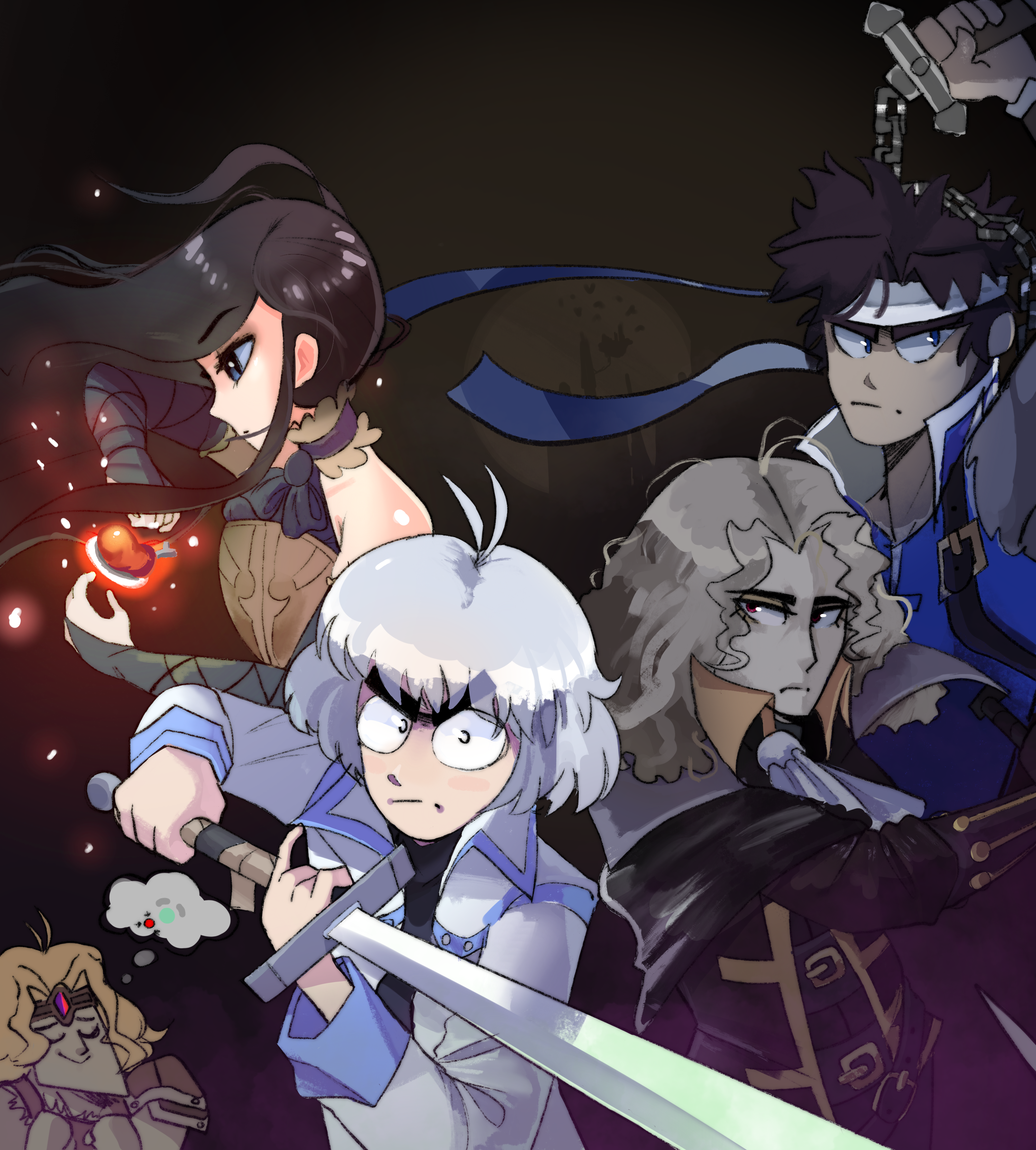 Castlevania Animation Collab (promo art)