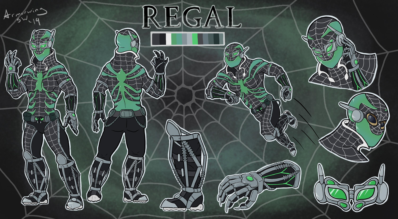 Spidersona Challenge: Regal