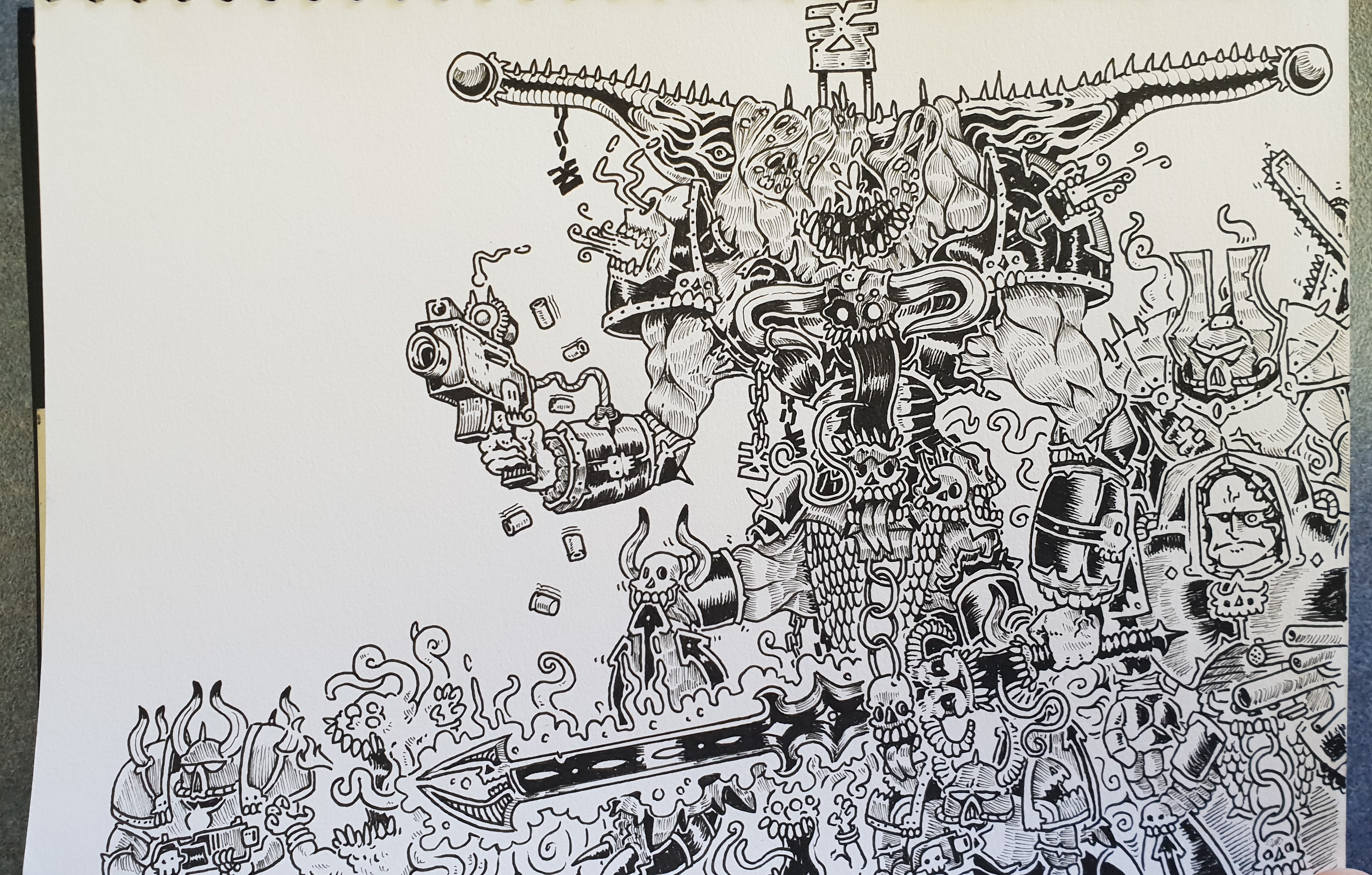 Sketchbook Warhammer