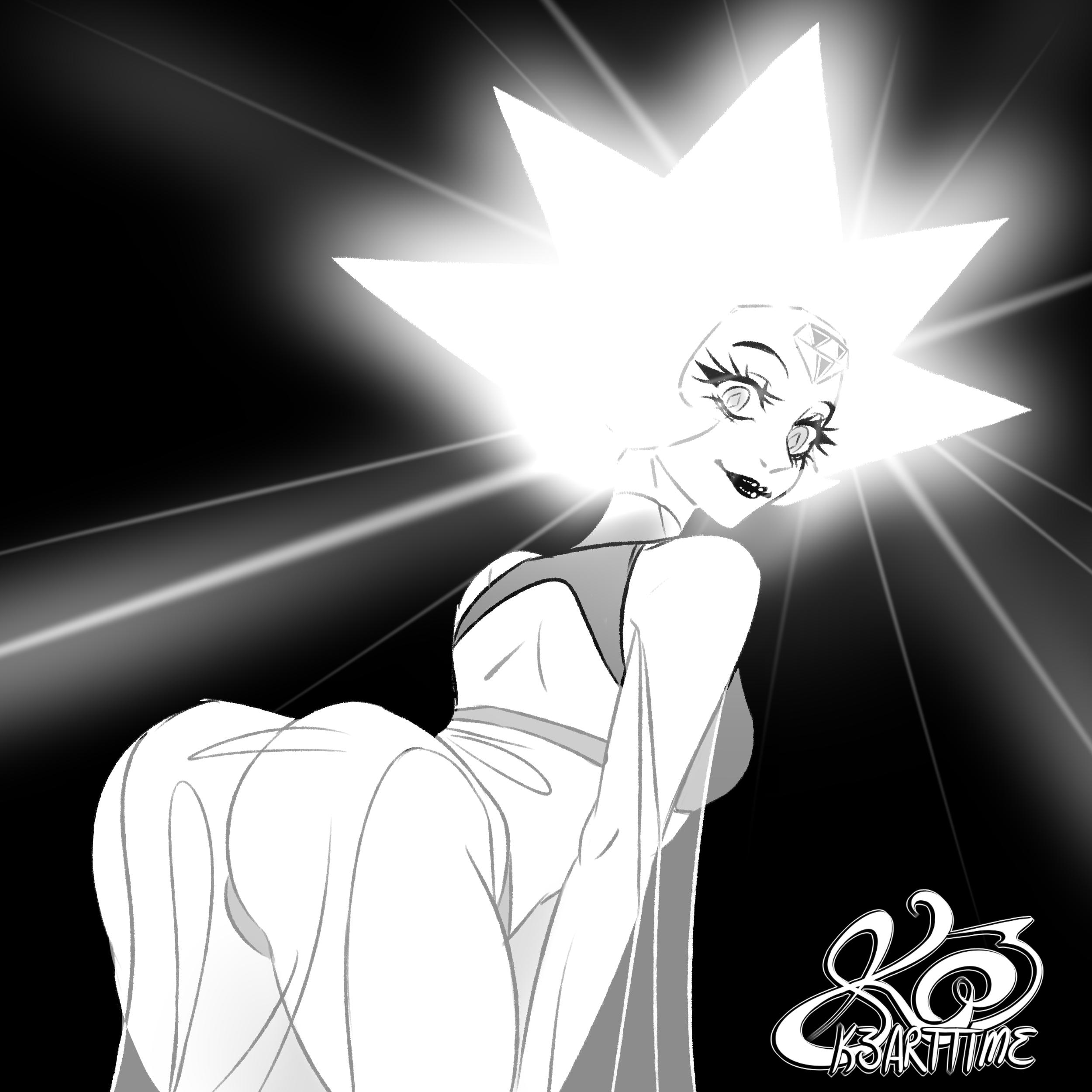 White Diamond sekushii