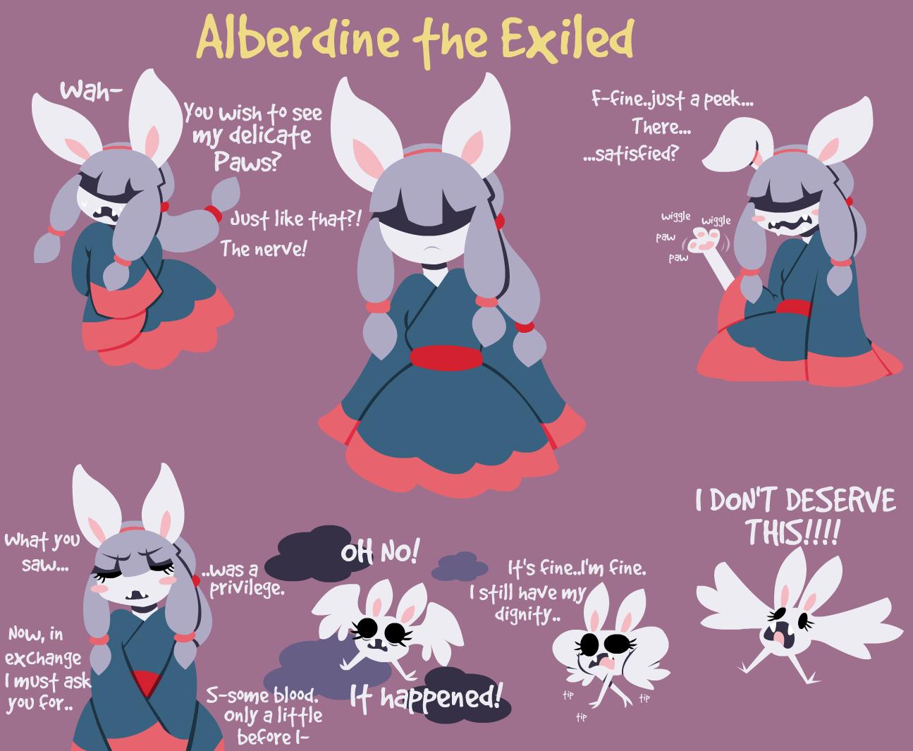 Alberdine the Exiled
