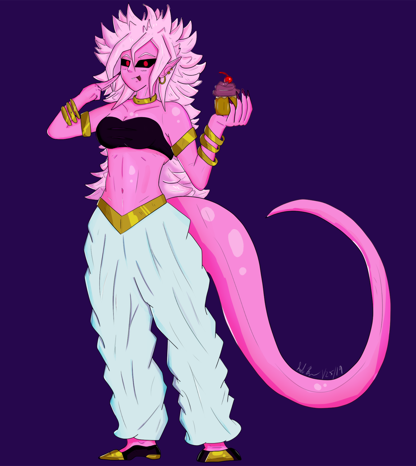 Android 21 has a Cupcake