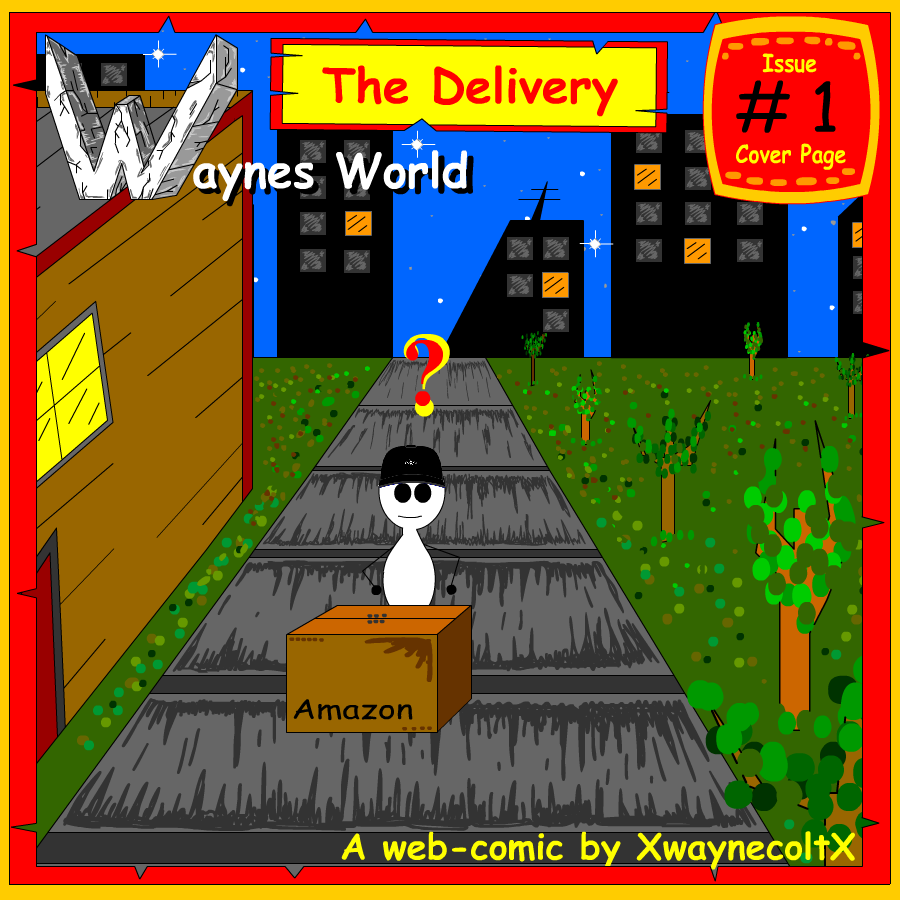 Waynes World Cover page (#1) (The Delivery)