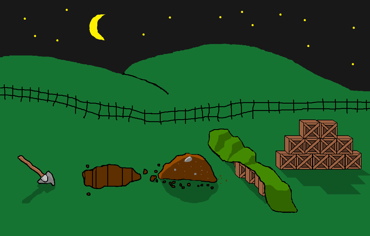 Possible game level of a game in the neer future
