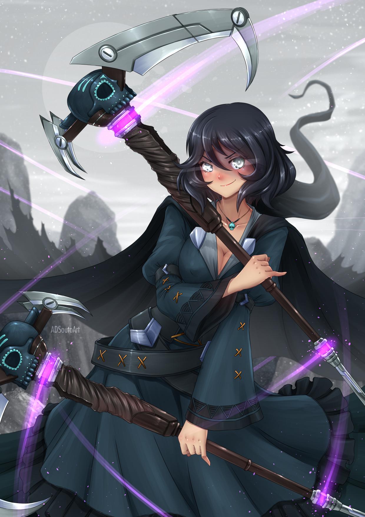 Maria Calavera, The Grim Reaper