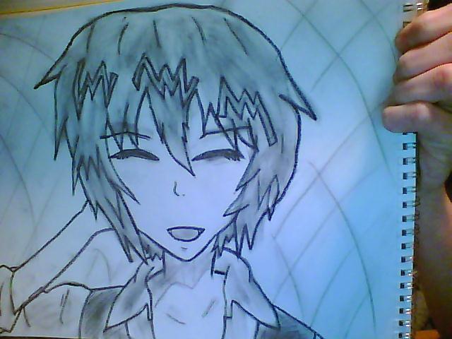 Happy :] [sketch] :[