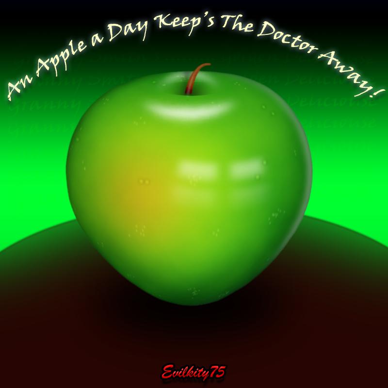 An Apple a day....:ek75